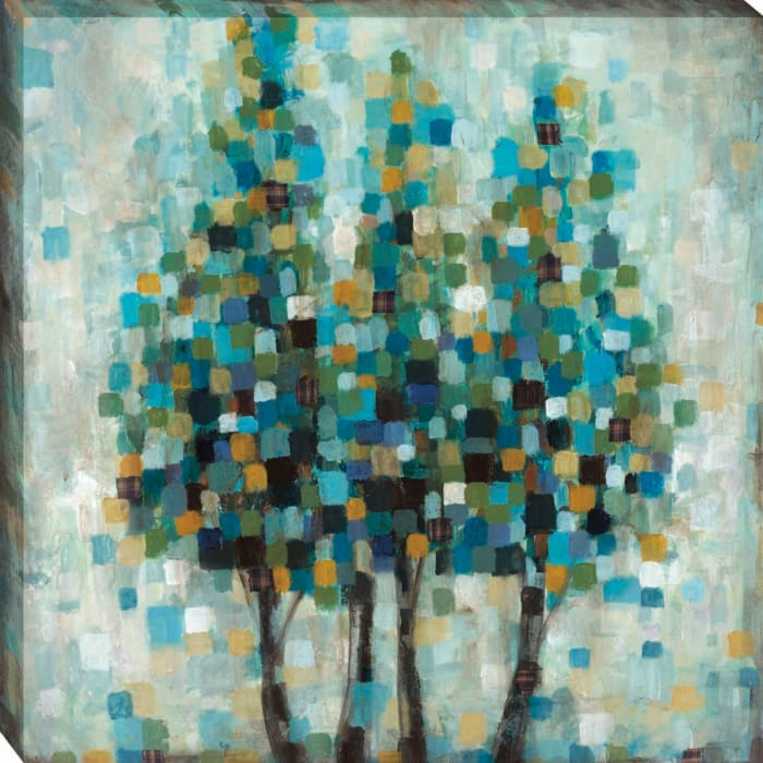 Into The Blue By Wani Pasion Wrapped Canvas Wall Art