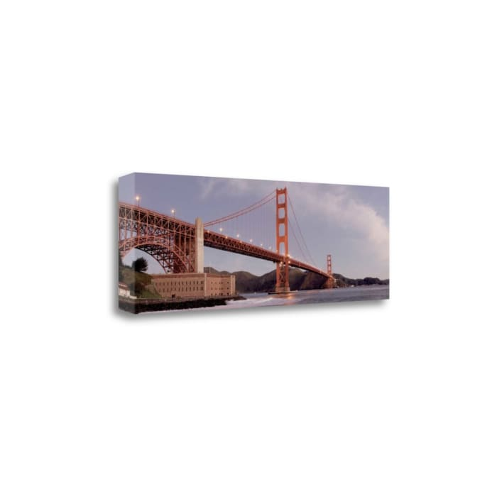 Golden Gate Bridge 40 By Alan Blaustein Wrapped Canvas Wall Art