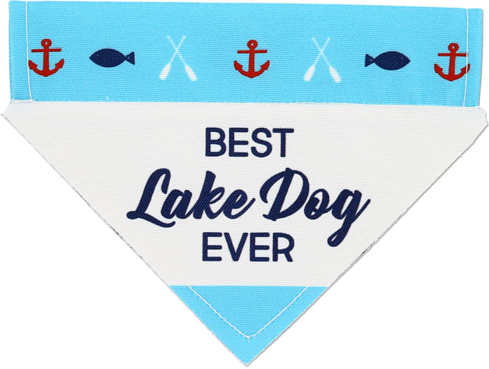 Lake Dog Pet Bandana