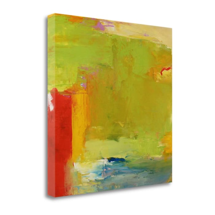 A Touch Of Blue By Mark Dickson Wrapped Canvas Wall Art