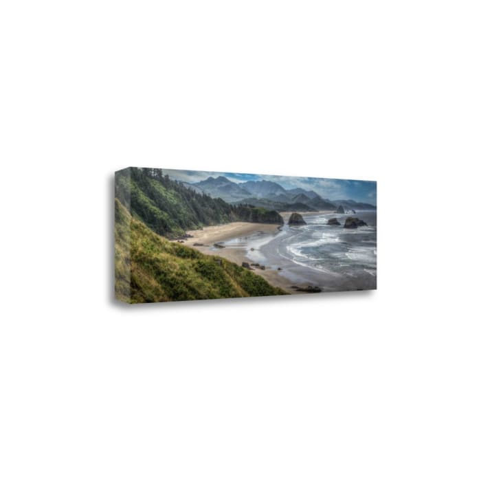 Coastal Serenity By Larry J. Tait Wrapped Canvas Wall Art