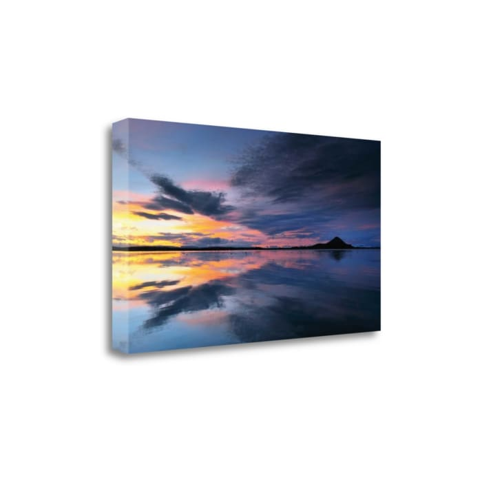 Lake Myvatn Reflections By Andy Mumford Wrapped Canvas Wall Art