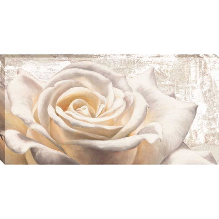 White On White By Jenny Thomlinson Brown and Red Wrapped Canvas Wall Art