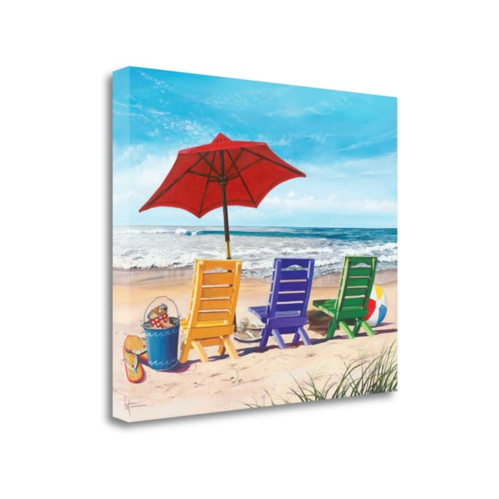 Beachy Keen By Scott Westmoreland Wrapped Canvas Wall Art