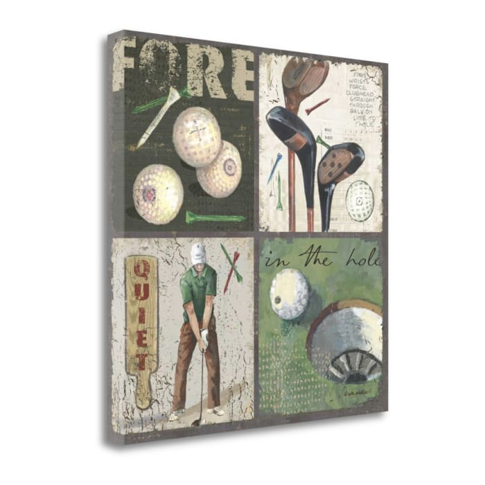 Fore By Anita Phillips Wrapped Canvas Wall Art