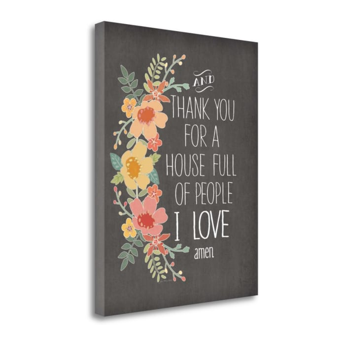 House Full Of Love By Jo Moulton Wrapped Canvas Wall Art