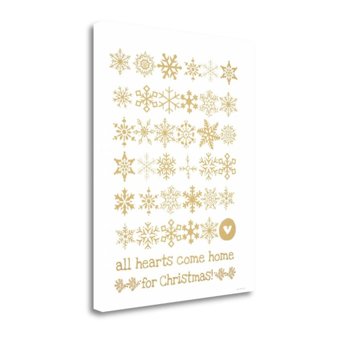 All Hearts By Jo Moulton Wrapped Canvas Wall Art