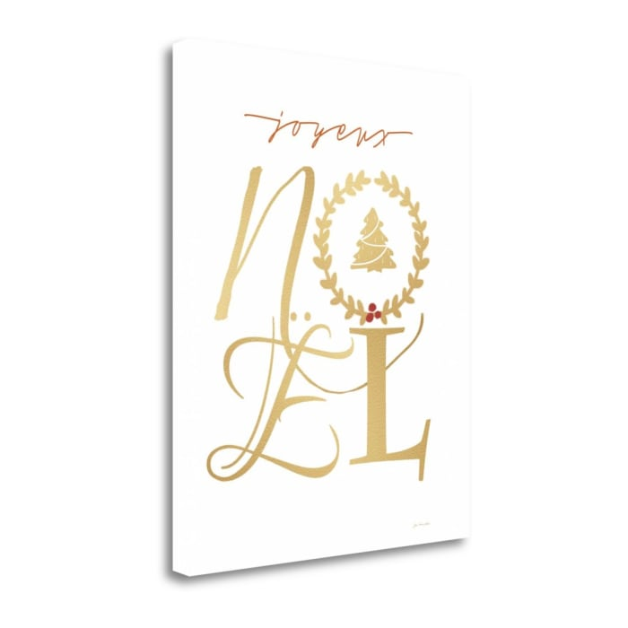 Noel By Jo Moulton Wrapped Canvas Wall Art
