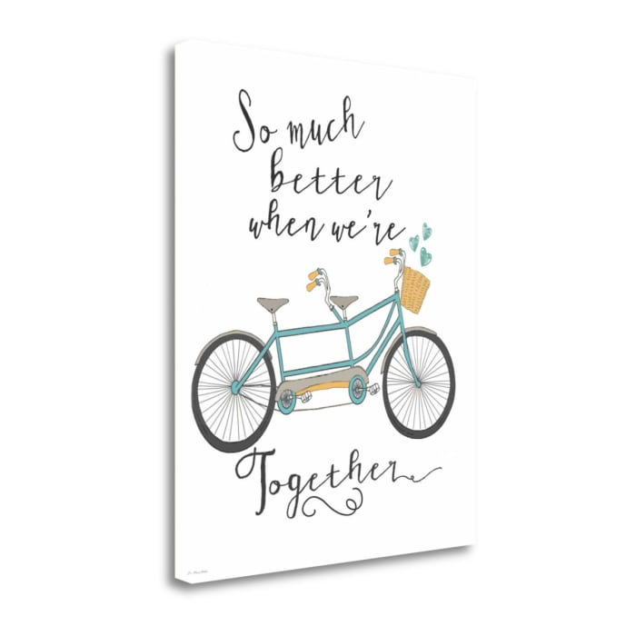 Together By Jo Moulton Wrapped Canvas Wall Art