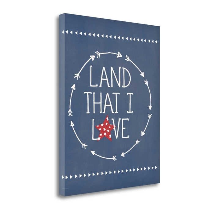 Land I Love By Jo Moulton Wrapped Canvas Wall Art