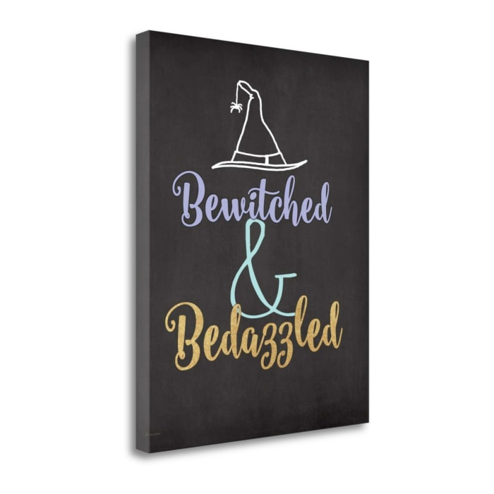 Bedazzled By Jo Moulton Wrapped Canvas Wall Art
