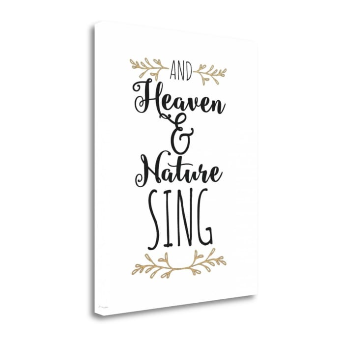 Heaven and Nature Sing By Jo Moulton Wrapped Canvas Wall Art