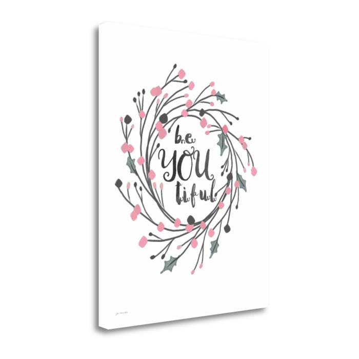 Be Youtiful By Jo Moulton Wrapped Canvas Wall Art