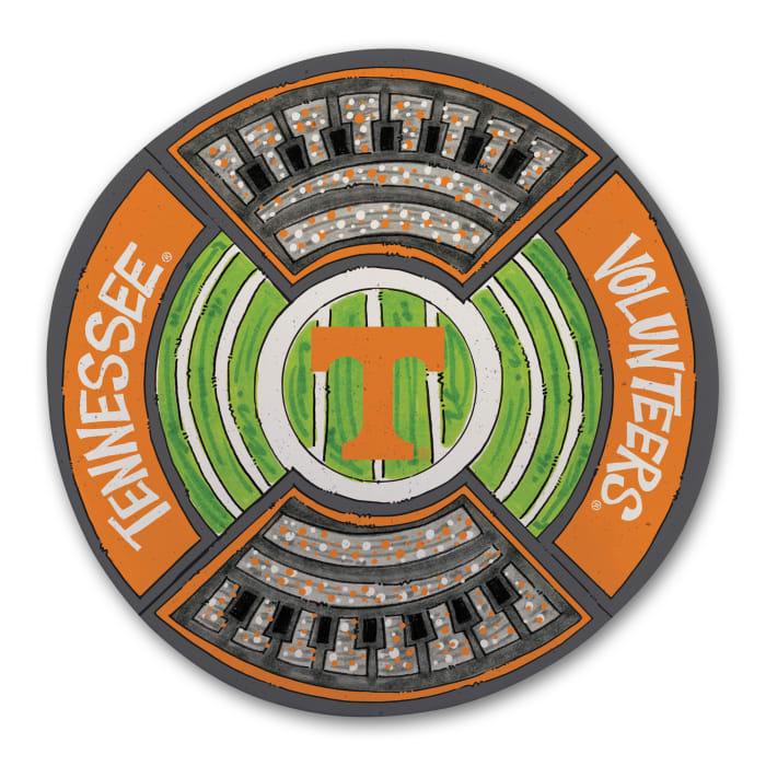 Tennessee Volunteers Melamine Stadium Platter