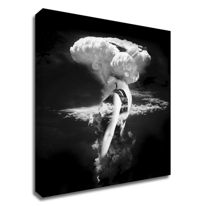 Print on Wrapped Canvas Wall Art  War Goddess by Robert Farkas Multi Color