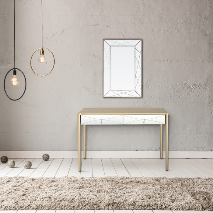 Insley Wall Mirror and Console Table Set