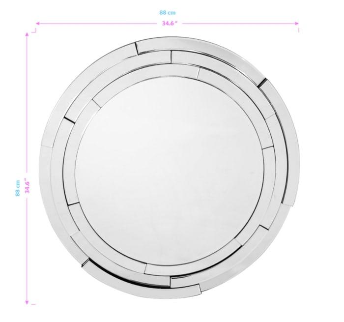 Dimensions Geometric Mirror