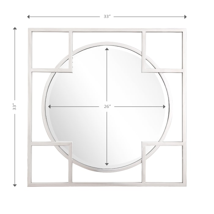 Kinney Square Wall Mirror