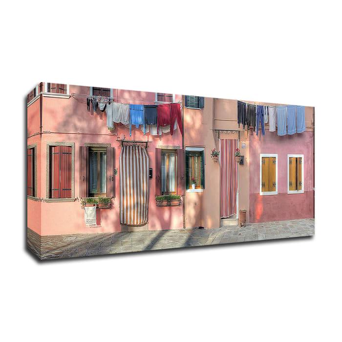 Casa Veneziane No. 2 by Alan Blaustein Wrapped Canvas Wall Art