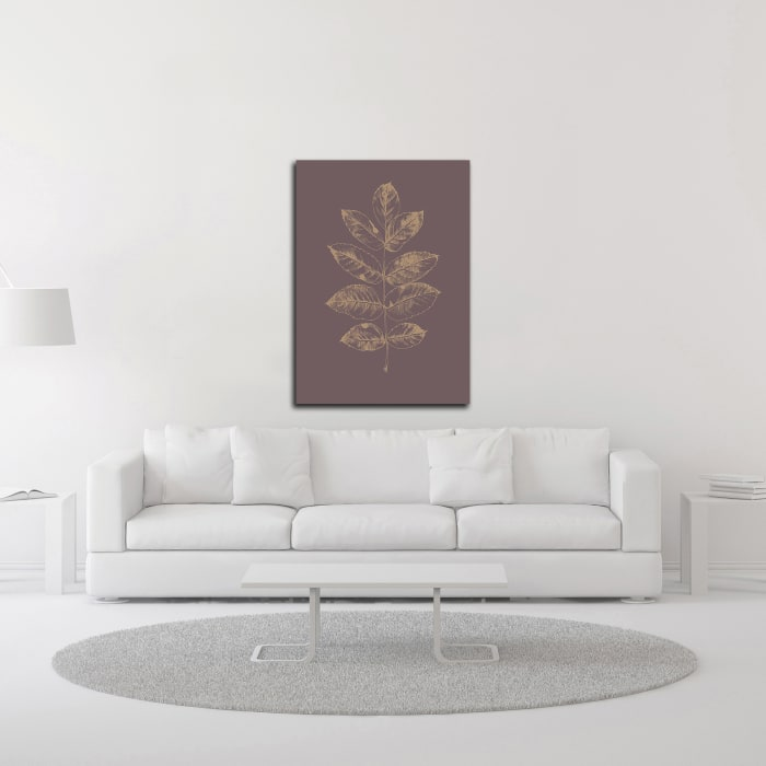 Botanica 2 by Design Fabrikken Wrapped Canvas Wall Art