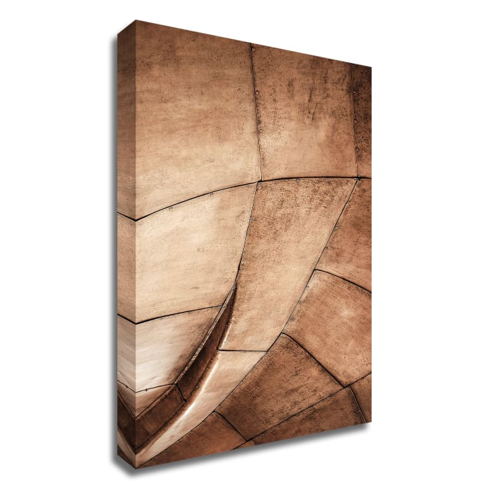 Metal Structure by Design Fabrikken Wrapped Canvas Wall Art