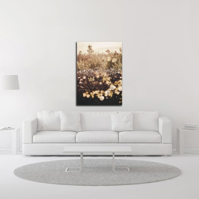Golden Field by Design Fabrikken Wrapped Canvas Wall Art