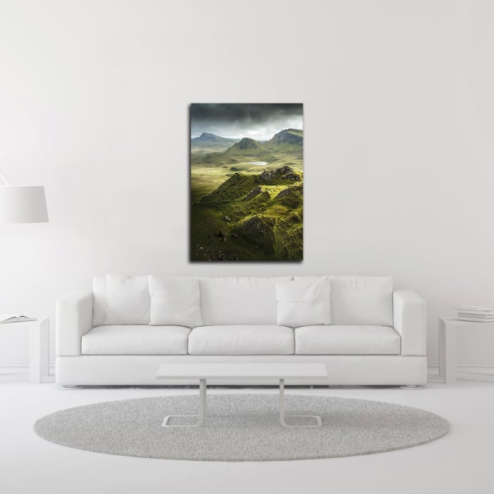 Bishop 7 by Design Fabrikken Wrapped Canvas Wall Art