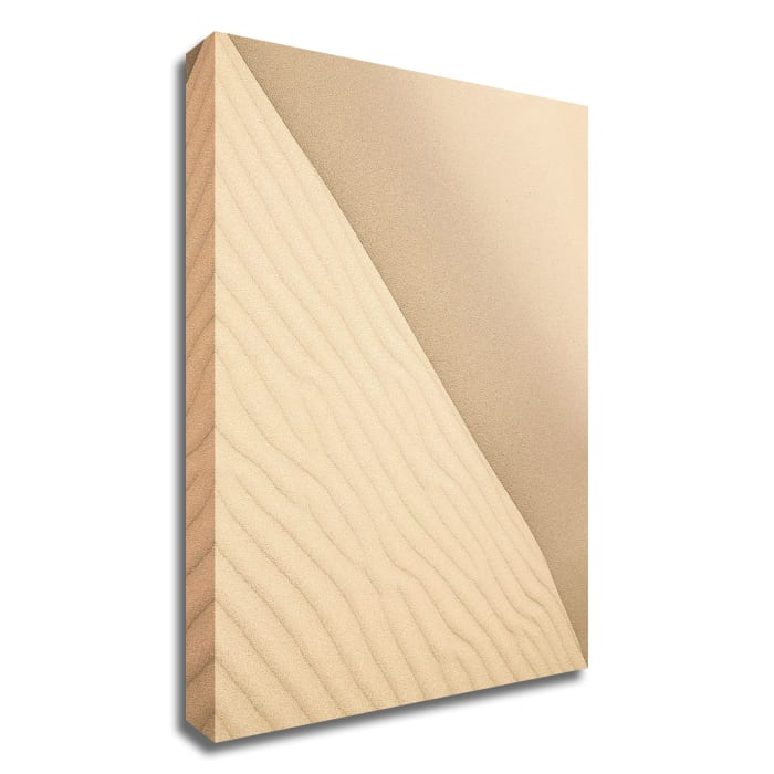 Sand 2 by Design Fabrikken Wrapped Canvas Wall Art