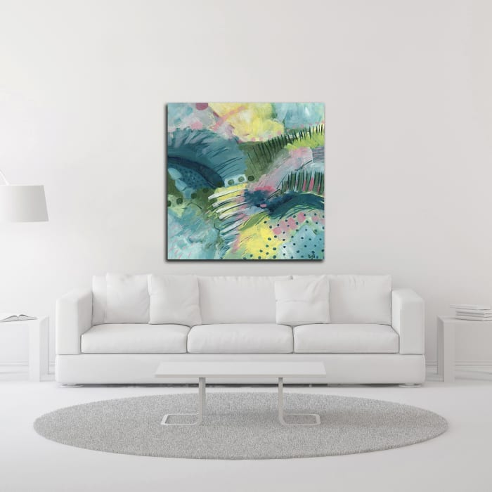 Here and There by Ann Thompson Nemcosky Wrapped Canvas Wall Art