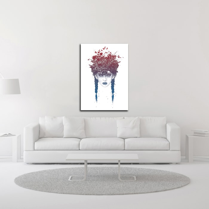 Summer Queen No. 2 by Balazs Solti Wrapped Canvas Wall Art