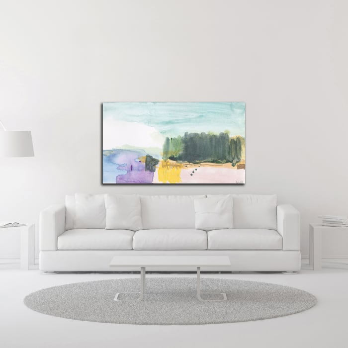 The Cloud that Took the Form by Jan Weiss Wrapped Canvas Wall Art