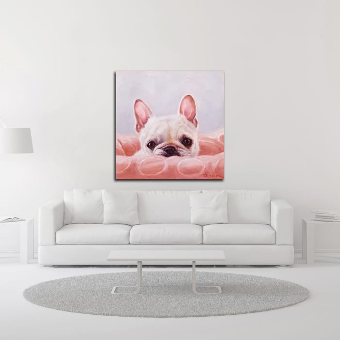 My Happy Place by Lucia Heffernan Wrapped Canvas Wall Art