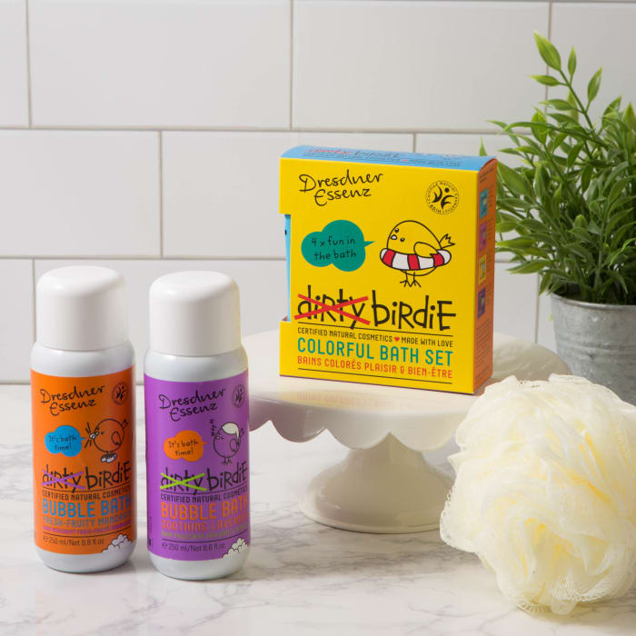 Dirty Birdie Mandarin Fruit Bubble Bath