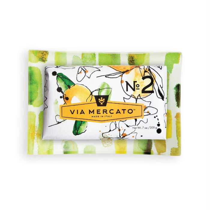 Via Mercato No.2 Scented Bar Soap