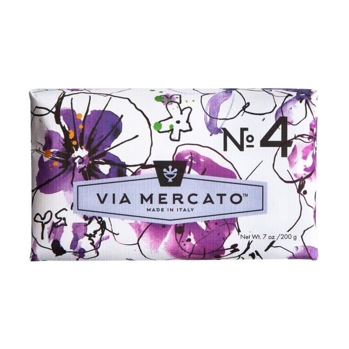 Via Mercato No.4 Scented Bar Soap