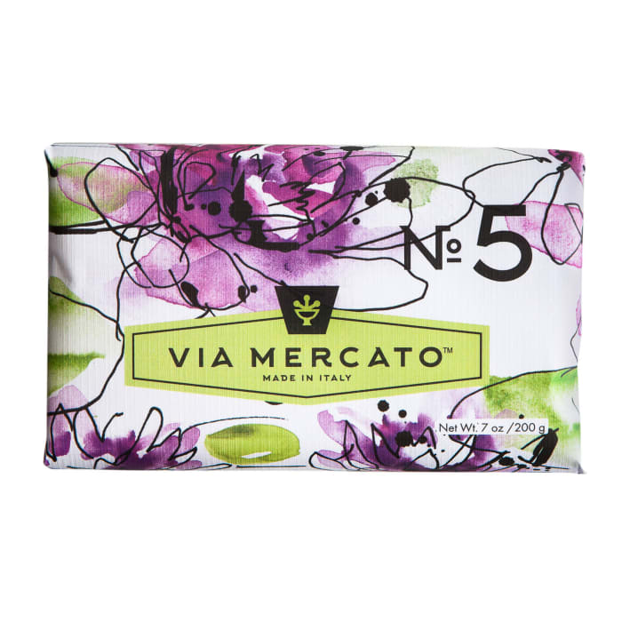 Via Mercato No.5 Scented Bar Soap