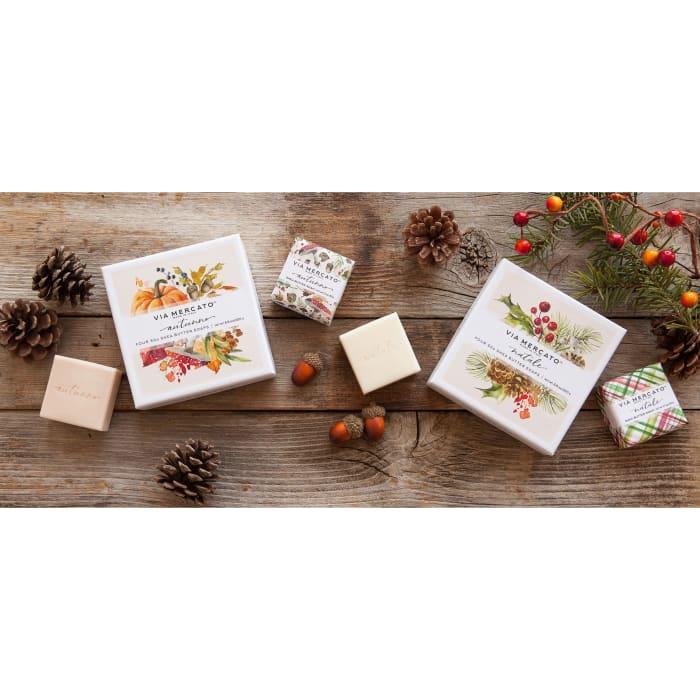 Via Mercato Natale Gift 4 Soap Set