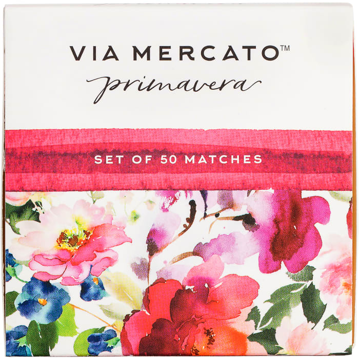 Via Marcato Spring Flowers Scented Matches