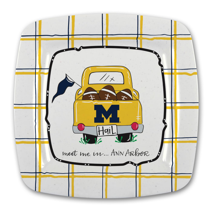 Michigan Melamine Platter