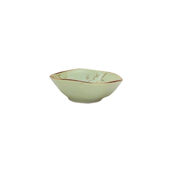 RYO 6 Piece Green Dinner Soup Bowl Set