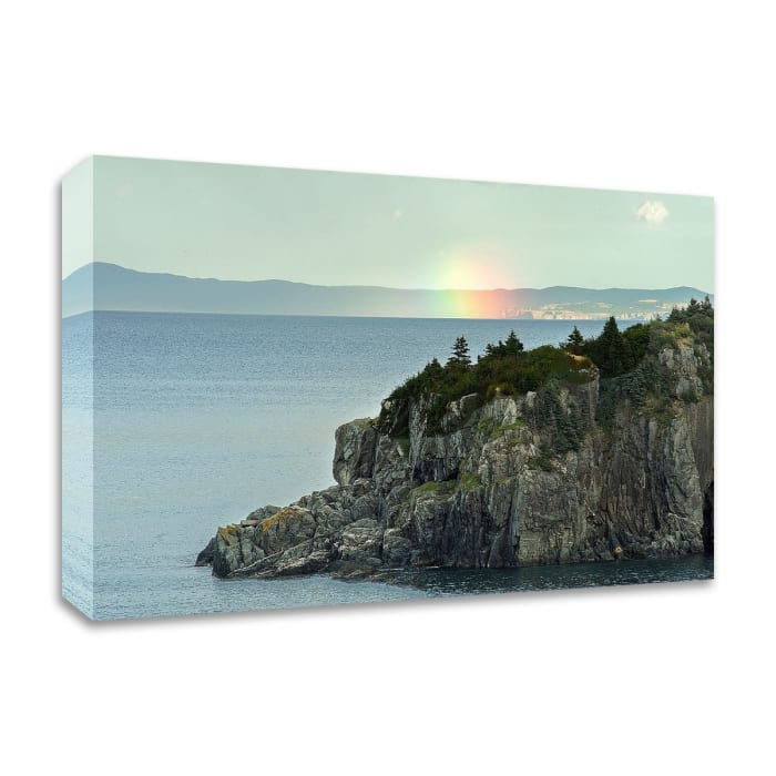 Rocky Spectrum by Chuck Burdick Wrapped Canvas Wall Art