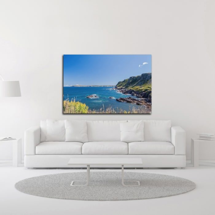 Rocky Cove by Chuck Burdick Wrapped Canvas Wall Art