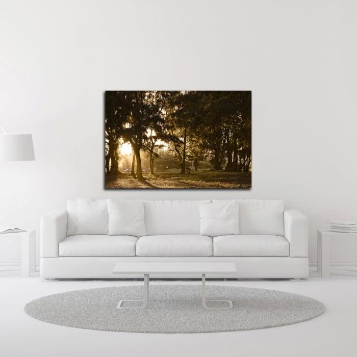 Daybreak by Chuck Burdick Wrapped Canvas Wall Art