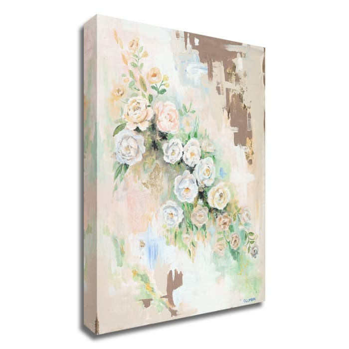 Spring Flowers by Alana Clumeck Wrapped Canvas Wall Art
