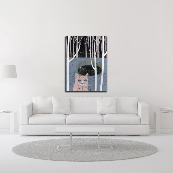 Well by Jennifer Davis Wrapped Canvas Wall Art