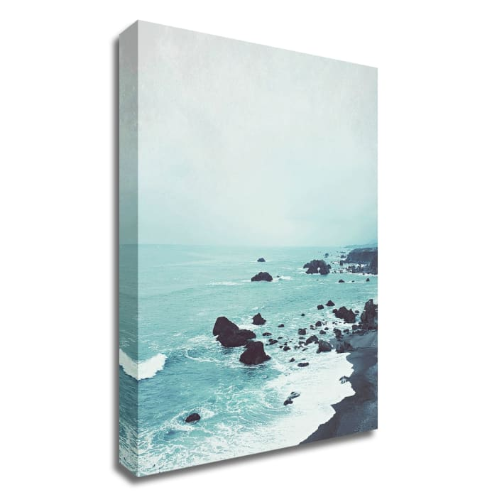 Dusk at the Sea by Lupen Grainne Wrapped Canvas Wall Art