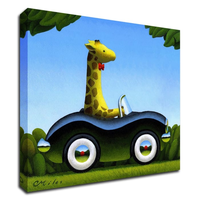 Commuting by Chris Miles Wrapped Canvas Wall Art