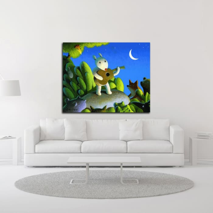 The Concert by Chris Miles Wrapped Canvas Wall Art