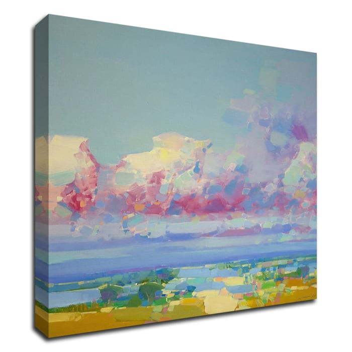 Purple Clouds by Vahe Yeremyan Wrapped Canvas Wall Art