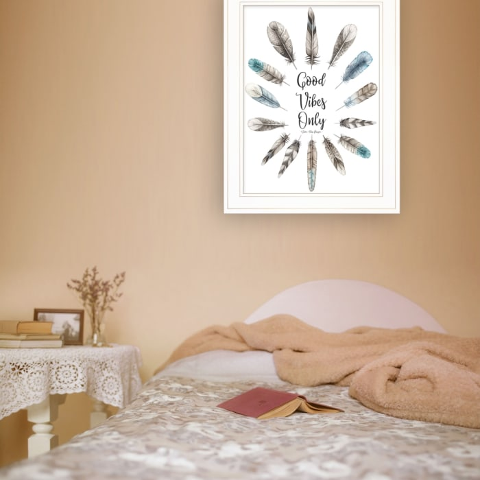 Good Vibes Only by Seven Trees Design Framed Wall Art